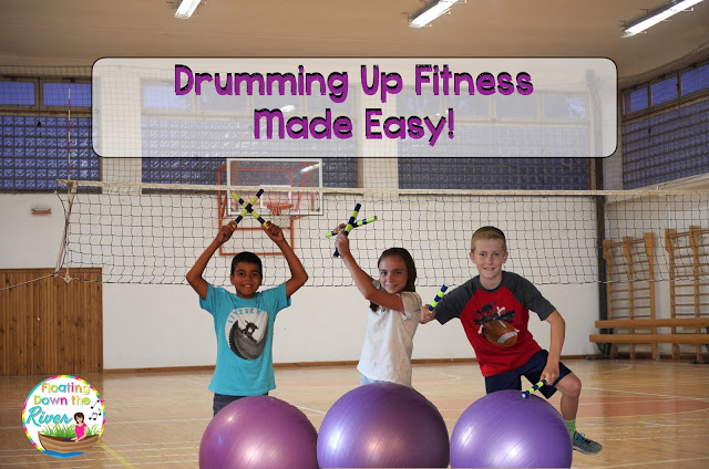 Drumming Up Fitness Made Easy