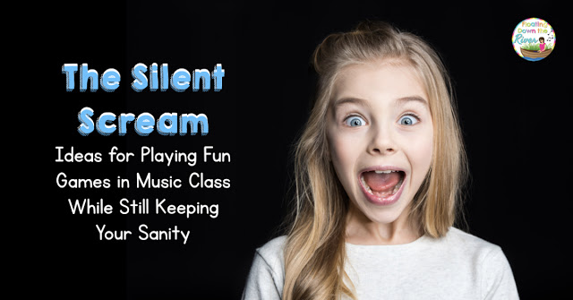 Blog header Silent Scream for Behavior management